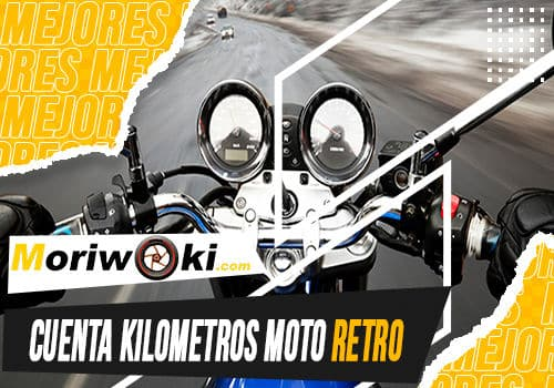 Mejores cuenta kilometros moto retro