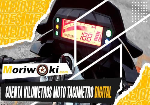 Mejores cuenta kilometros moto tacometro digital
