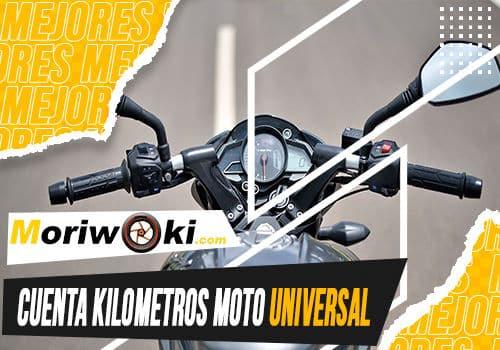 Mejores cuenta kilometros moto universal