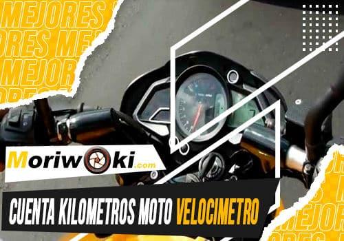 Mejores cuenta kilometros moto velocimetro