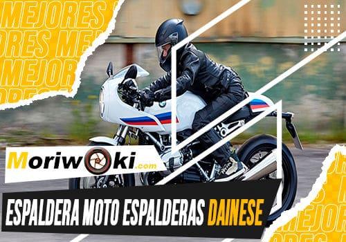 Mejores espaldera moto espalderas dainese