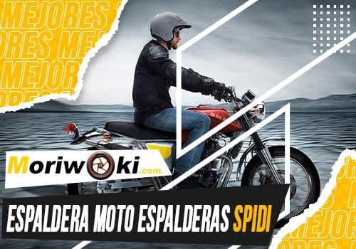 Mejores espaldera moto espalderas spidi