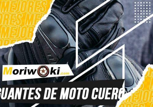 Mejores guantes de moto cuero