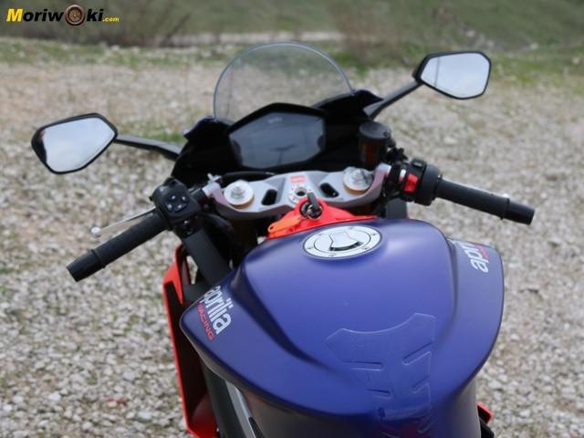 Prueba Aprilia RS 660 control.