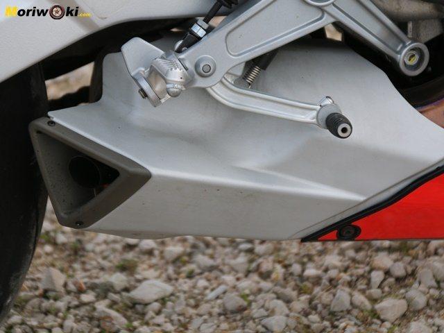 Prueba Aprilia RS 660 palanca.
