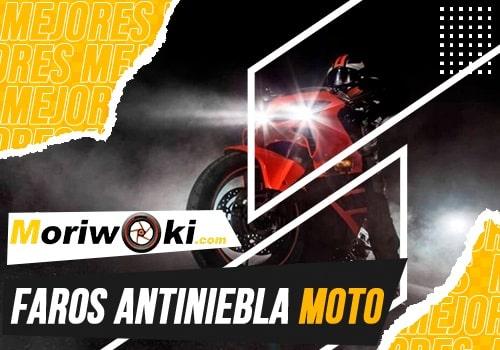 mejores faros antiniebla moto
