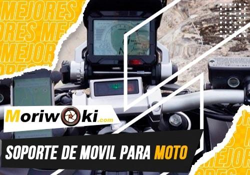 mejores soporte de movil para moto