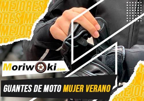 Mejores guantes de moto mujer verano