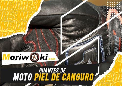 Mejores guantes de moto piel de canguro