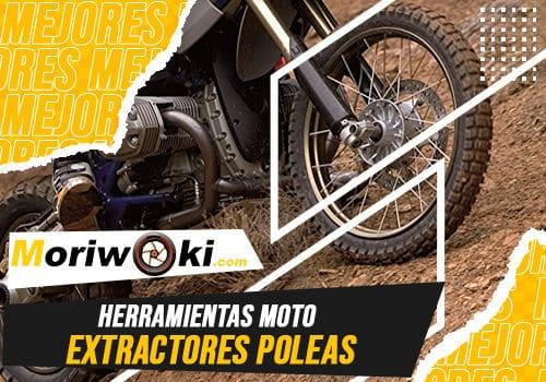 Mejores herramientas moto Extractores poleas