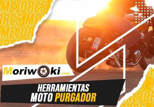 Mejores herramientas moto purgador