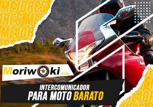 Mejores intercomunicador para moto barato