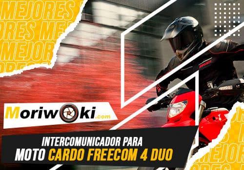 Mejores intercomunicador para moto cardo freecom 4 duo