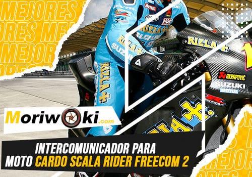 Mejores intercomunicador para moto cardo scala rider freecom 2