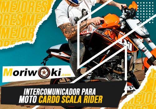 Mejores intercomunicador para moto cardo scala rider