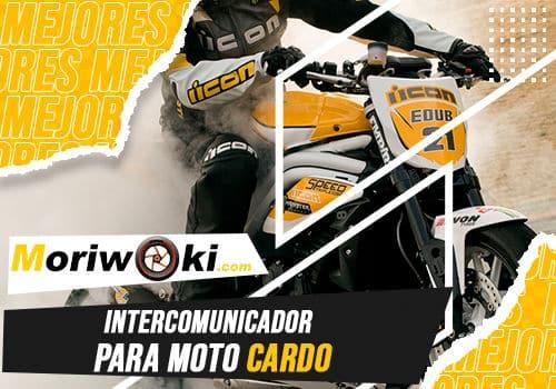 Mejores intercomunicador para moto cardo