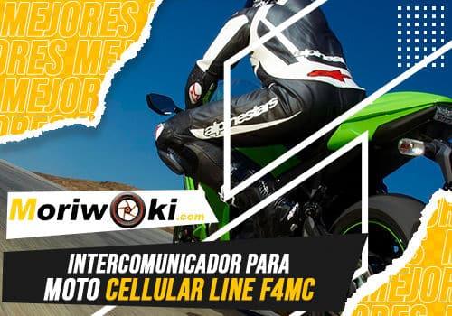 Mejores intercomunicador para moto cellular line f4mc