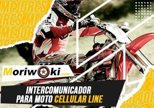 Mejores intercomunicador para moto cellular line