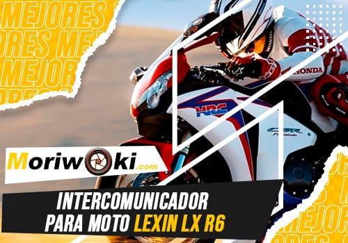 Mejores intercomunicador para moto lexin lx r6