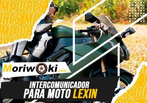 Mejores intercomunicador para moto lexin