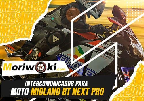 Mejores intercomunicador para moto midland bt next pro