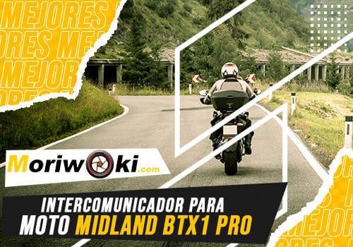 Mejores intercomunicador para moto midland btx1 pro