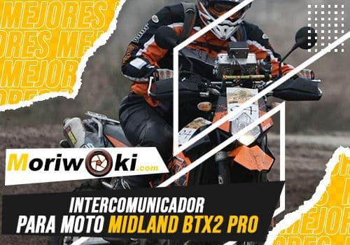 Mejores intercomunicador para moto midland btx2 pro