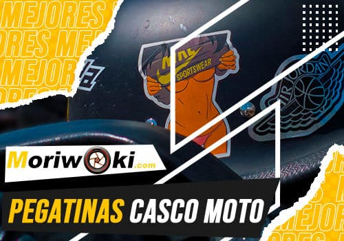 Mejores pegatinas casco moto