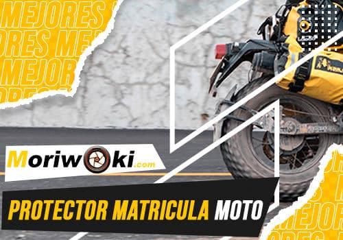 Mejores protector matricula moto