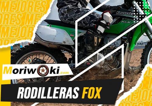 Mejores rodilleras fox