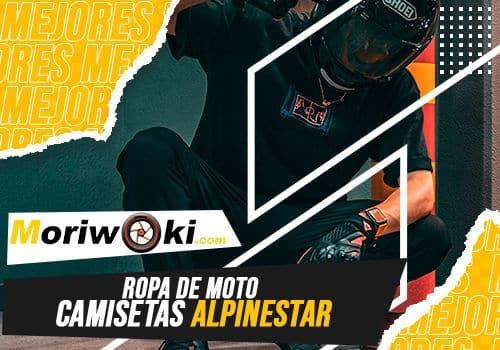 Mejores ropa de moto camisetas alpinestar
