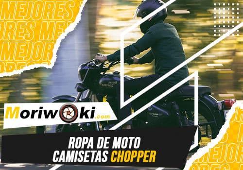 Mejores ropa de moto camisetas chopper
