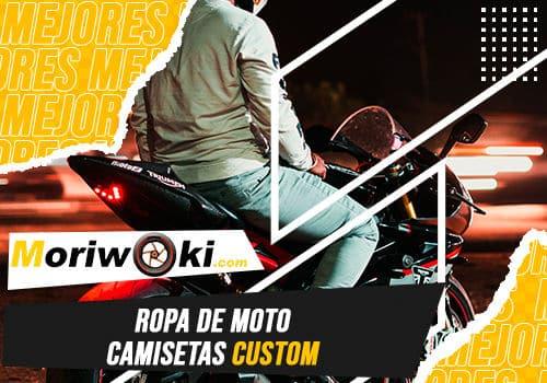 Mejores ropa de moto camisetas custom