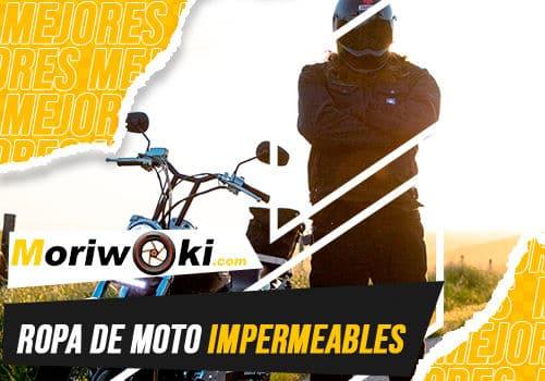 Mejores ropa de moto impermeables