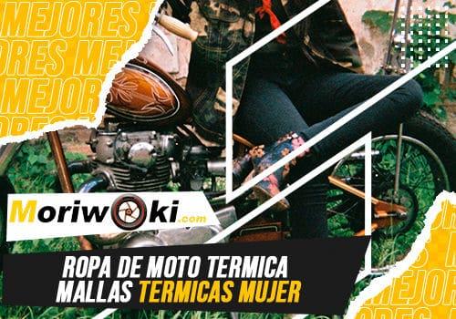 Mejores ropa de moto termica mallas termicas mujer