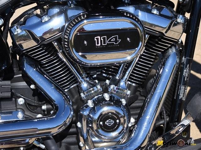 Prueba Harley Fat Boy 114