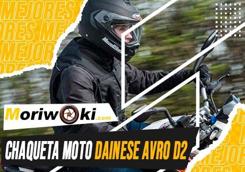 Mejores-chaqueta-moto-dainese-avro-d2